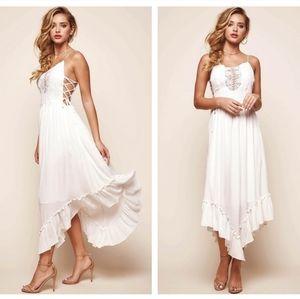 BNWT,  White Summer dress